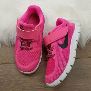 Nike Free 5.0 Girls 10C Velcro shoes